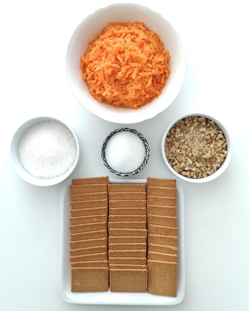 Carrot Balls ingredients