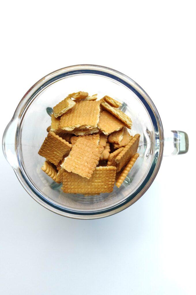 Shortbread in food processor