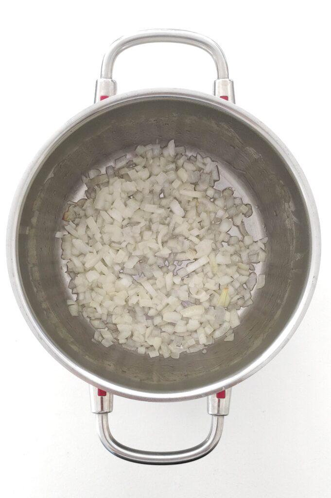 Sauté onions