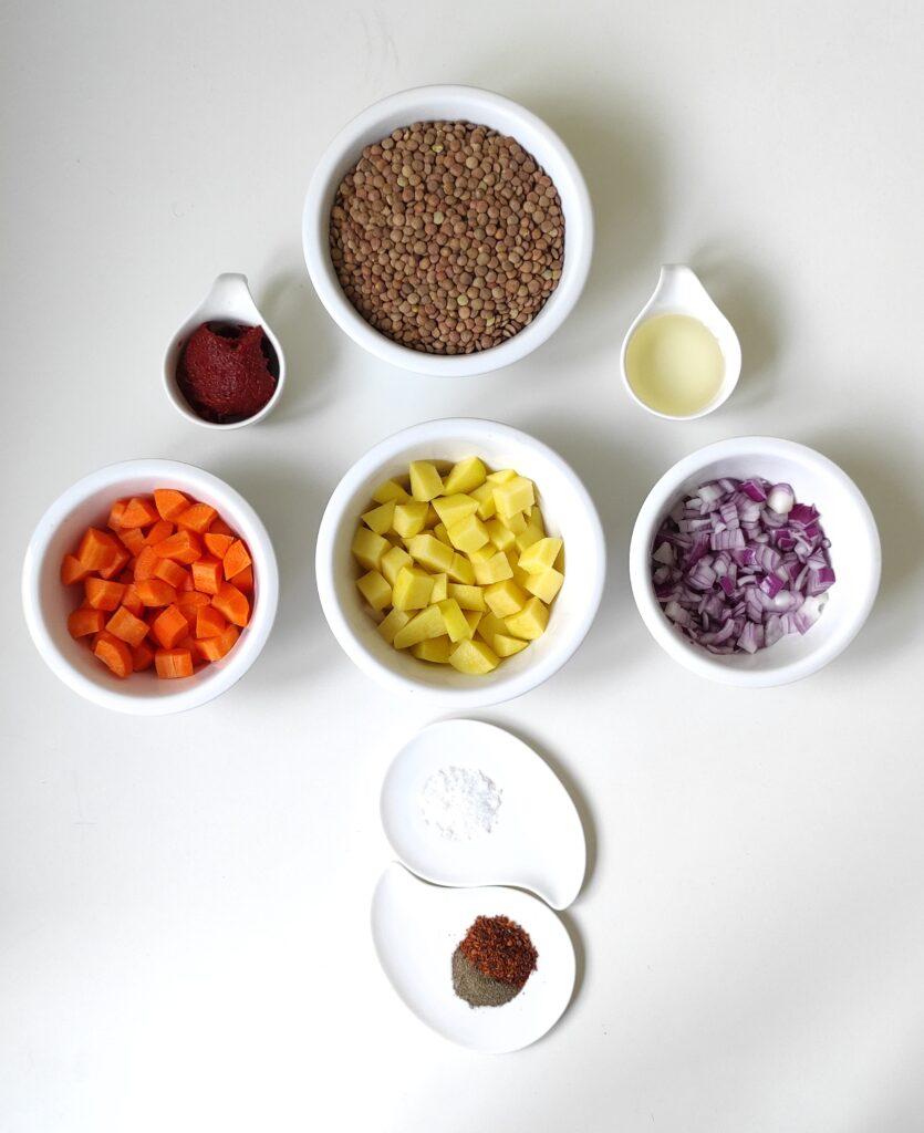 Red Lentil Stew Recipe